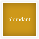 abundant