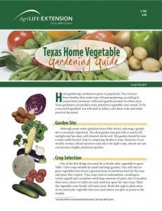 Texas Home Gardening Guide