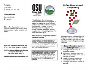 OSU Coffee Grounds