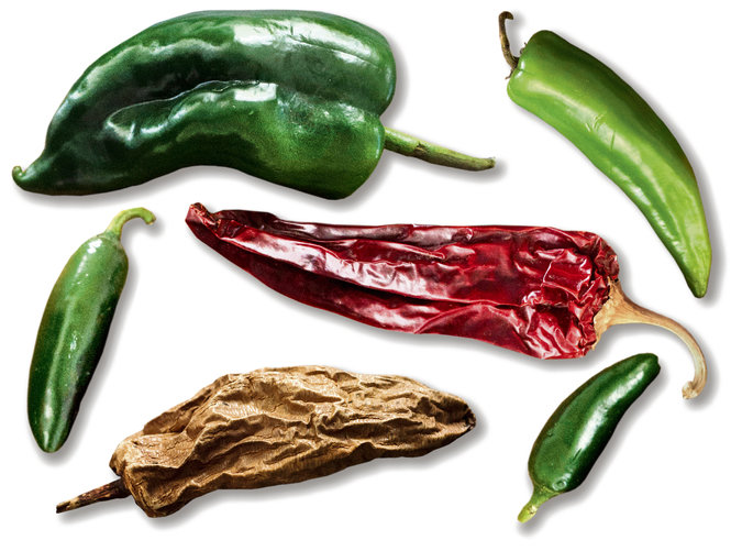 Not too hot! Chilies that add flavor - not heat.